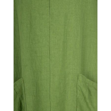 Thing 3QS 2 Pocket Tunic - Green