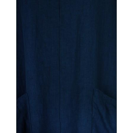 Thing 3QS 2 Pocket Tunic - Blue