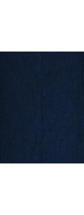 Thing Striped Linen Shift Dress Denim