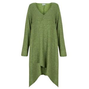 Thing Long A-symmetric Fleece Top