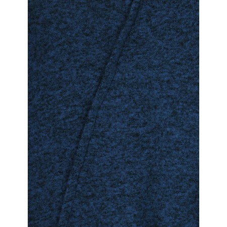 Thing Long A-symmetric Fleece Top - Blue