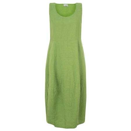 Thing Sleeveless Linen Dress - Green