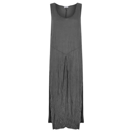 Thing Fitted Bodice Easyfit Dress - Grey