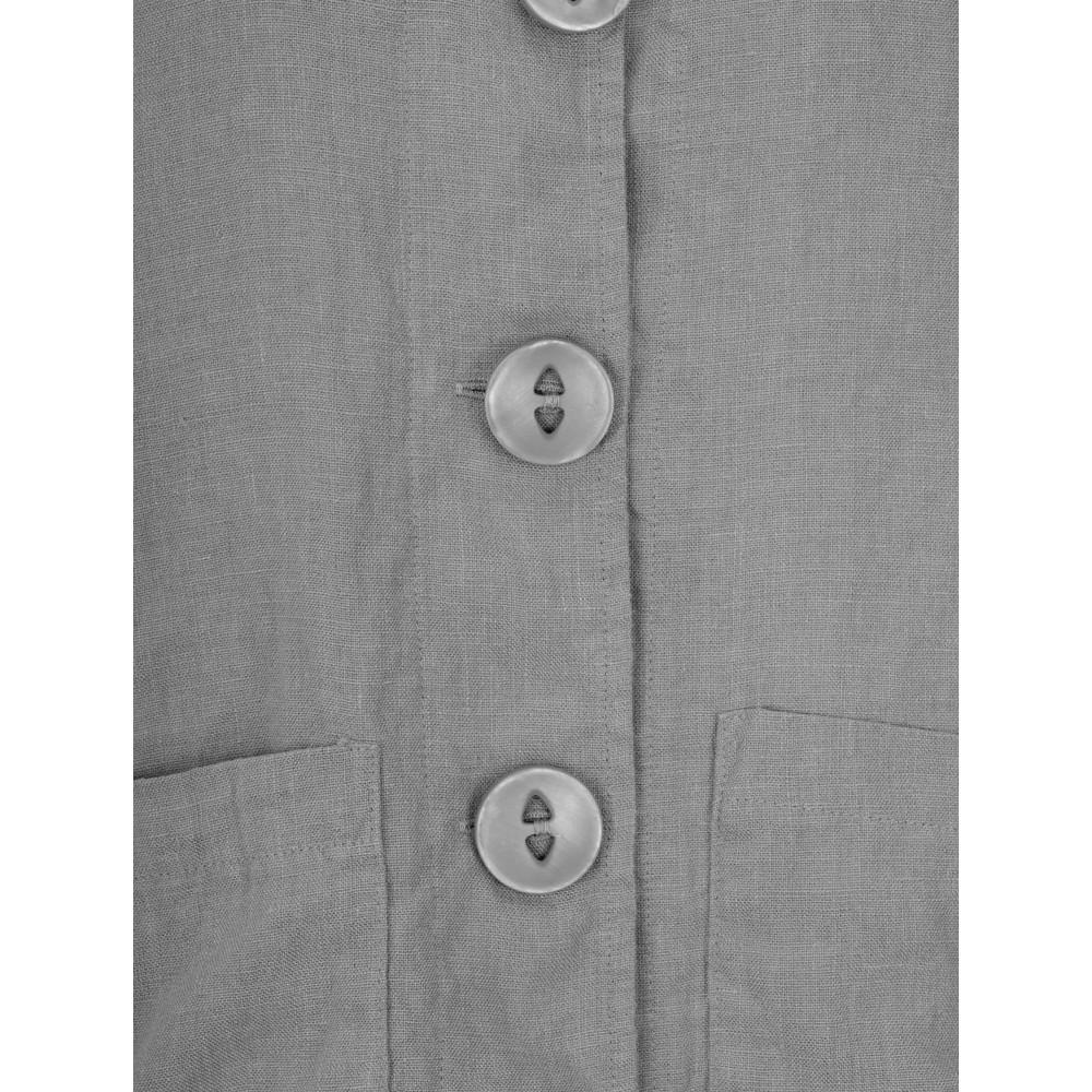 Thing Button Front 2 Pocket Jacket Dark Grey