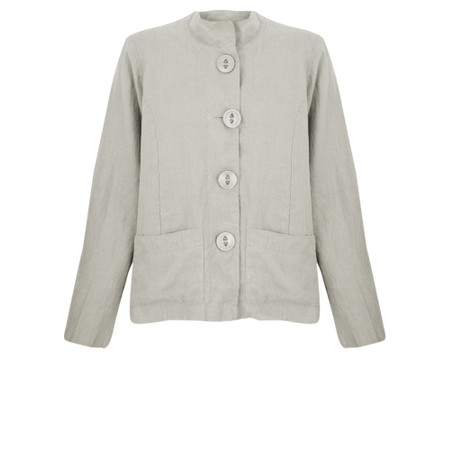 Thing Button Front 2 Pocket Jacket - Beige