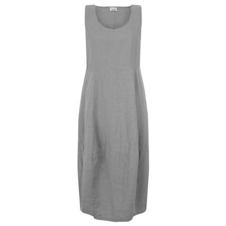 Thing Sleeveless Linen Dress - Grey