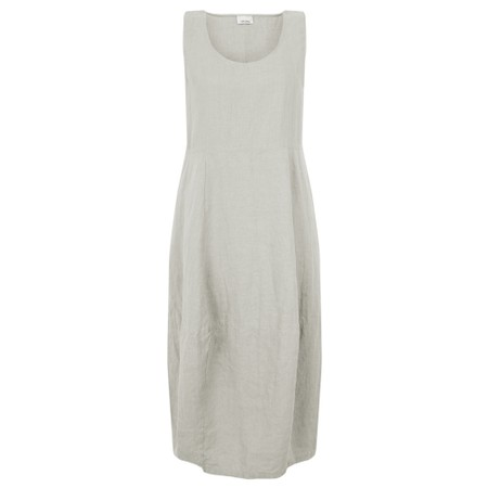 Thing Freya Linen  Sleeveless Dress - Beige
