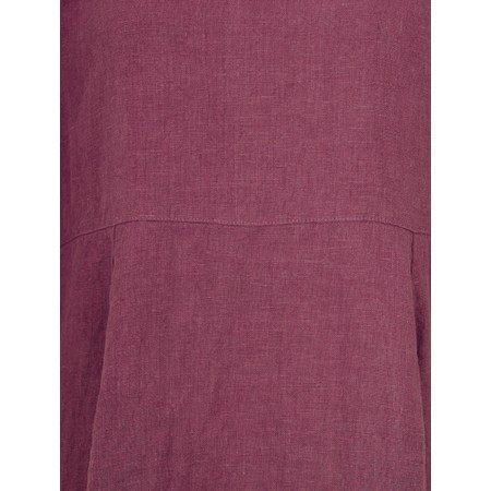 Thing Linen Balloon Dress - Purple