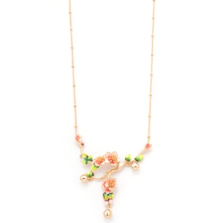 Bill Skinner Apple Blossom Statement Necklace - Multicoloured
