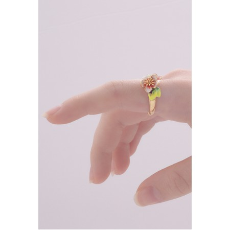 Bill Skinner Apple Blossom Open Ring - Multicoloured