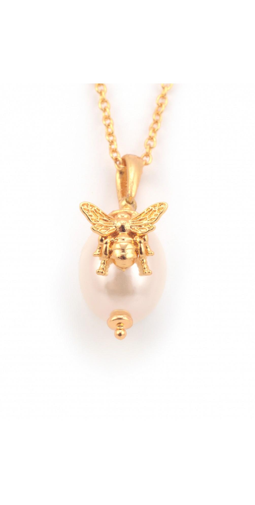 Bee Pearl Pendant main image