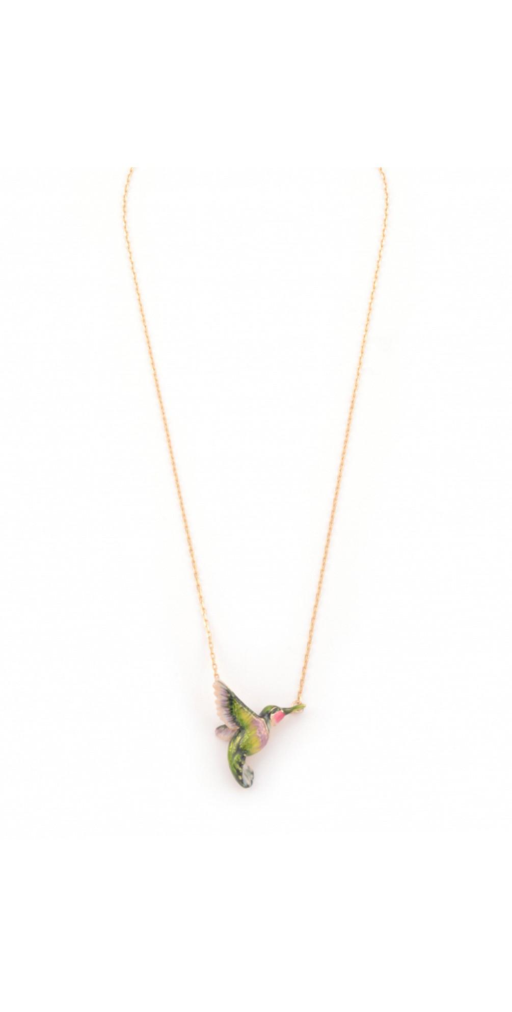 Hummingbird Pendant Necklace main image