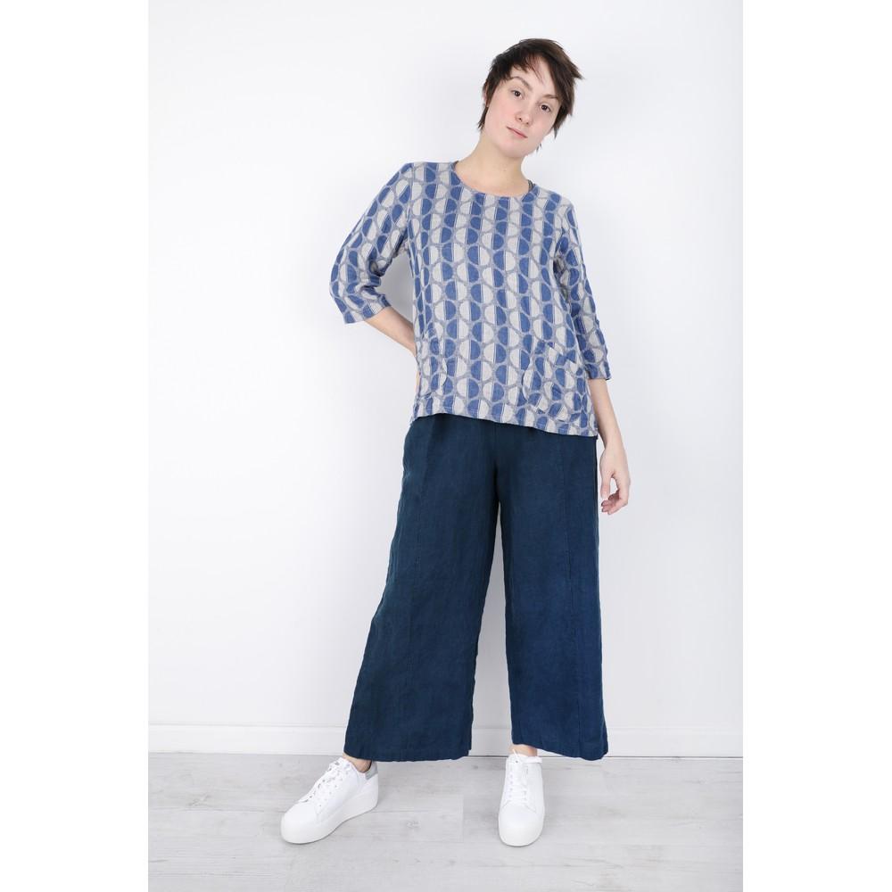 Thing Easy Parallel Linen Trouser Denim