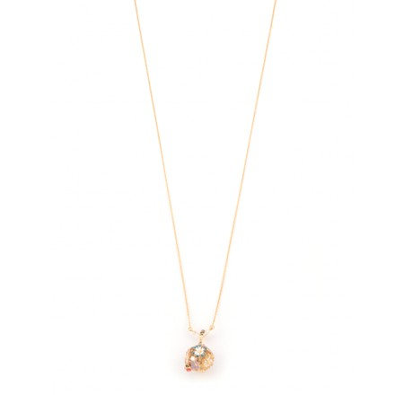 Bill Skinner Mini Enchanted Flower Pendant Necklace - Multicoloured