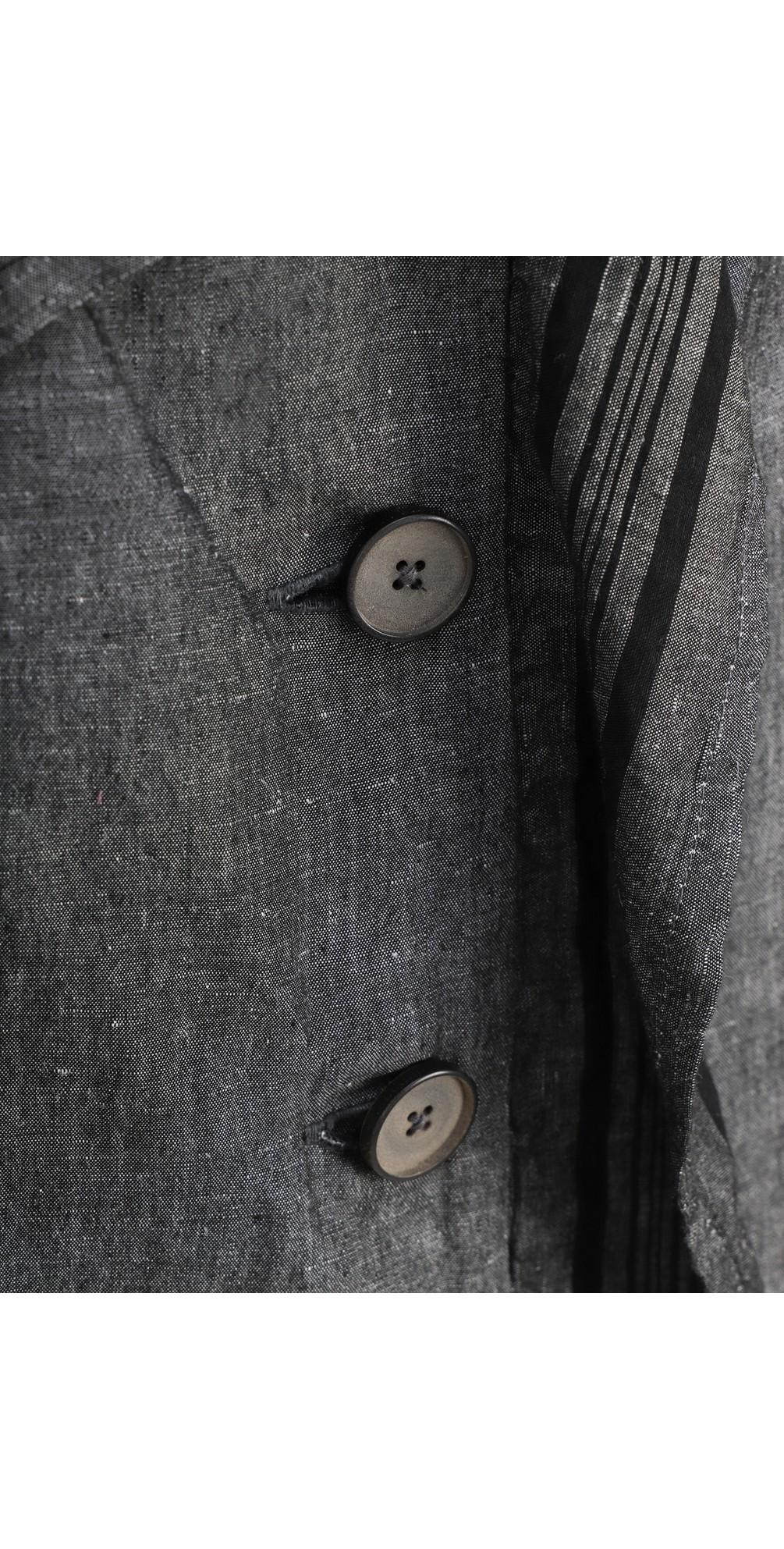 Stripe Detail Linen Jacket main image