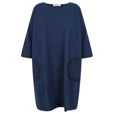 Mama B Koh Pocket Jersey Dress - Blue