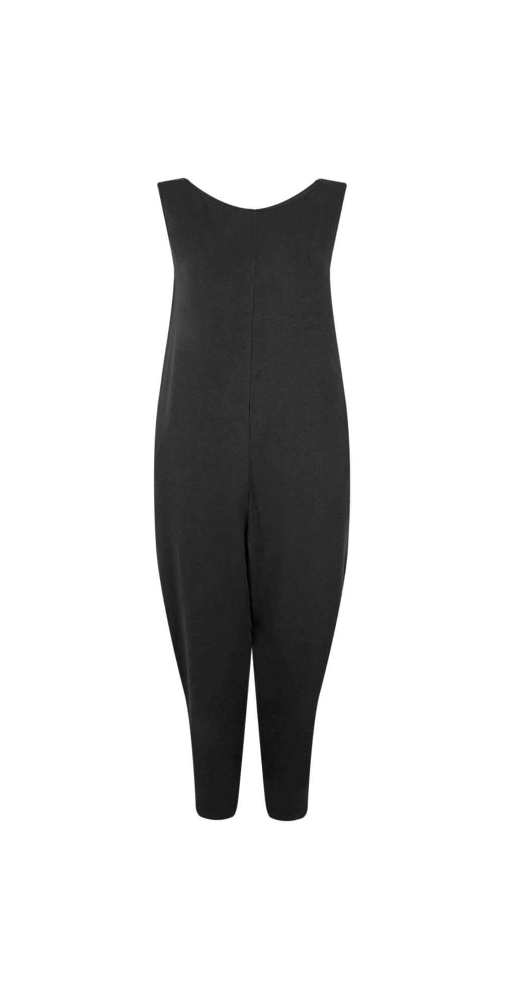 Jersey Sleeveless Jumpsuit main image