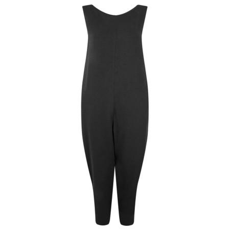 Mama B Jersey Sleeveless Jumpsuit - Black