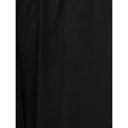 Mama B Ortigia Wide Leg Jersey Trousers - Black