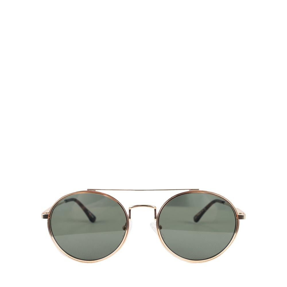 A Kjaerbede Pilot Sunglasses Gold Green