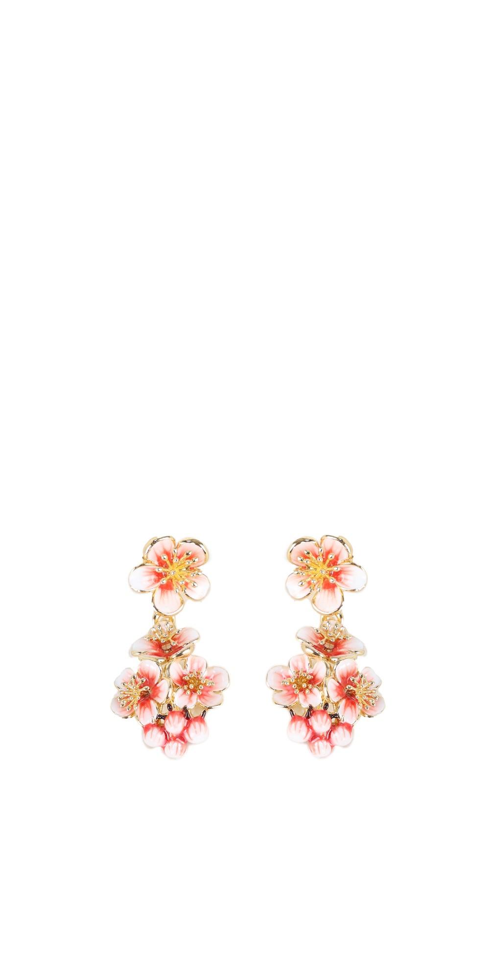 Apple Blossom Cluster Earrings main image