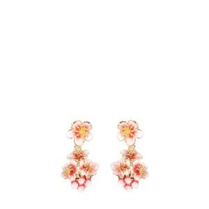 Bill Skinner Apple Blossom Cluster Earrings