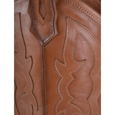 Kanna Porto Western Boot - Brown