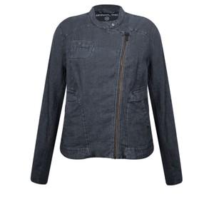 Sandwich Clothing Linen Biker Jacket