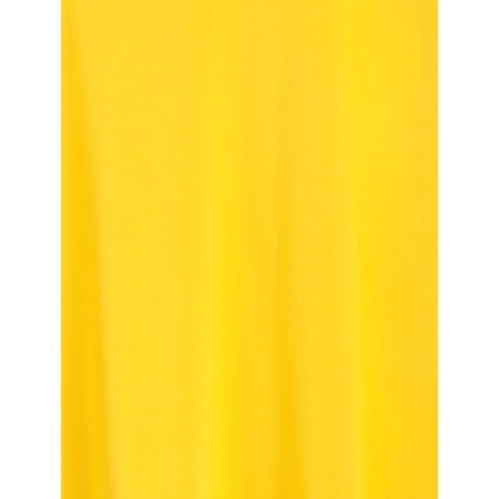 Sandwich Clothing Short Sleeve V-neck Top - Yellow