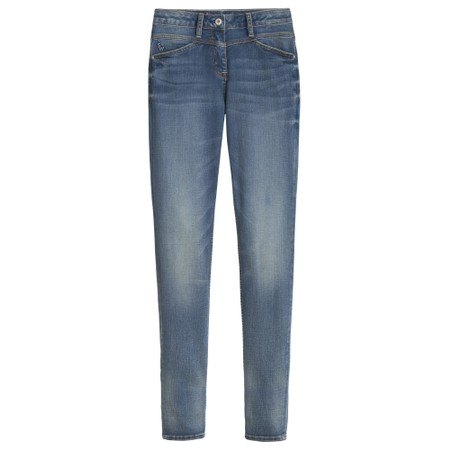 Sandwich Clothing Animal Cuff Skinny Jeans - Blue