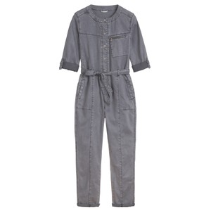 Sandwich Clothing Stretch Tencel Cotton Blend Boiler Suit