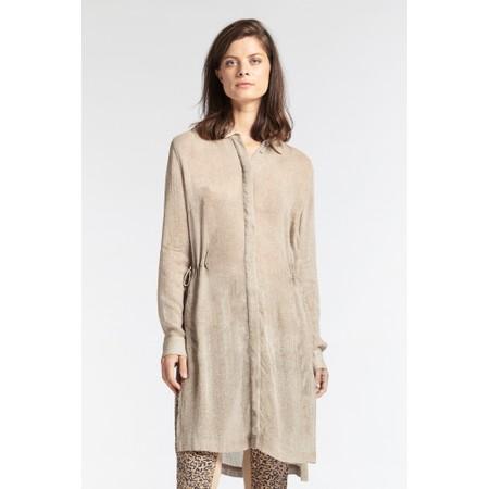 Sandwich Clothing Viscose shirt tunic  - Brown