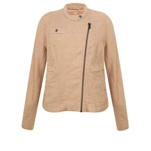 Sandwich Clothing Linen Biker Jacket
