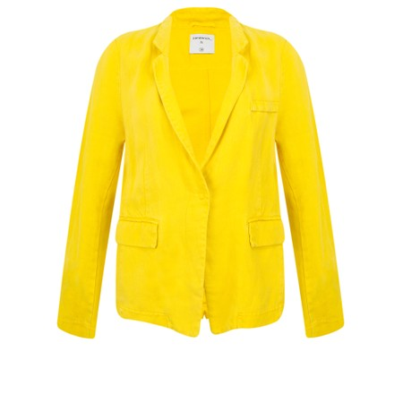 Sandwich Clothing Linen Twill Jacket - Yellow