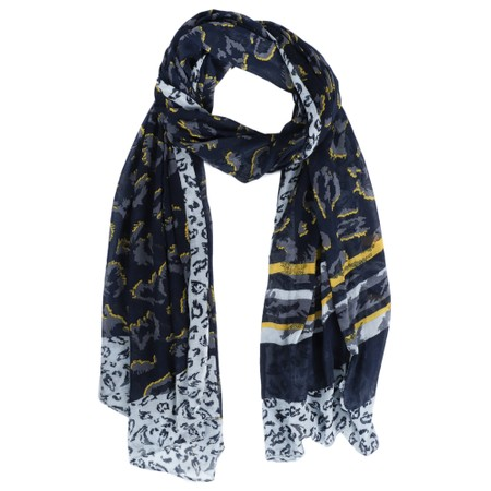 Sandwich Clothing Animal Weave Scarf - Blue