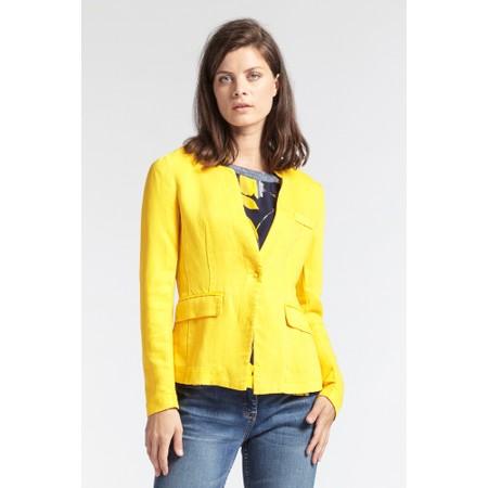 Sandwich Clothing Linen Twill Jacket - Yellow