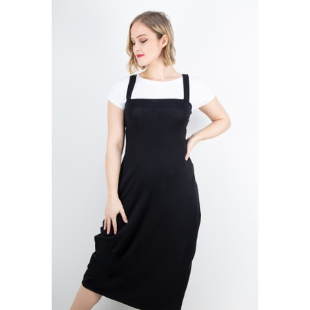 Mama B Jersey Sleeveless Dress - Black