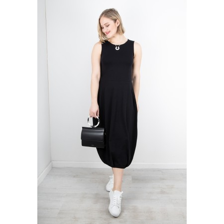Mama B Bora Balloon Jersey Dress - Black