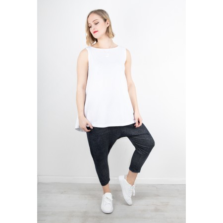 Mama B Boa Top - White