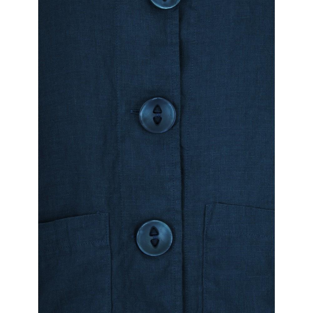 Thing Button Front 2 Pocket Jacket Denim