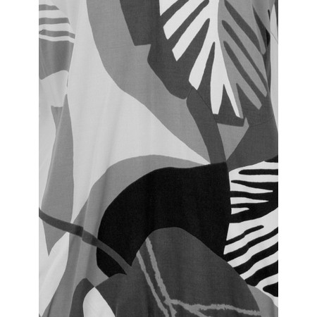 Sandwich Clothing Abstract Palm Print Top - Grey