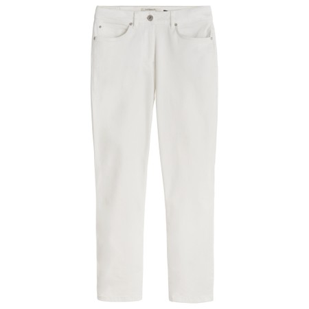 Sandwich Clothing Essential Stretch Twill Trousers - White