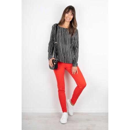 Sandwich Clothing Essential Stretch Slim Leg Trousers - Red