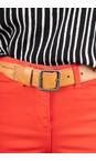 Sandwich Clothing Camel Woven Belt