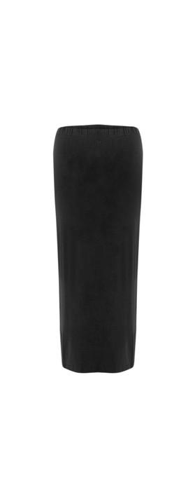 BY BASICS Sibi Bamboo Skirt Black 878