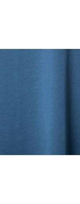 BY BASICS Bo Bamboo Easyfit Top Denim Blue 73