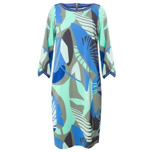 Sandwich Clothing Abstract Leaf Print Dress