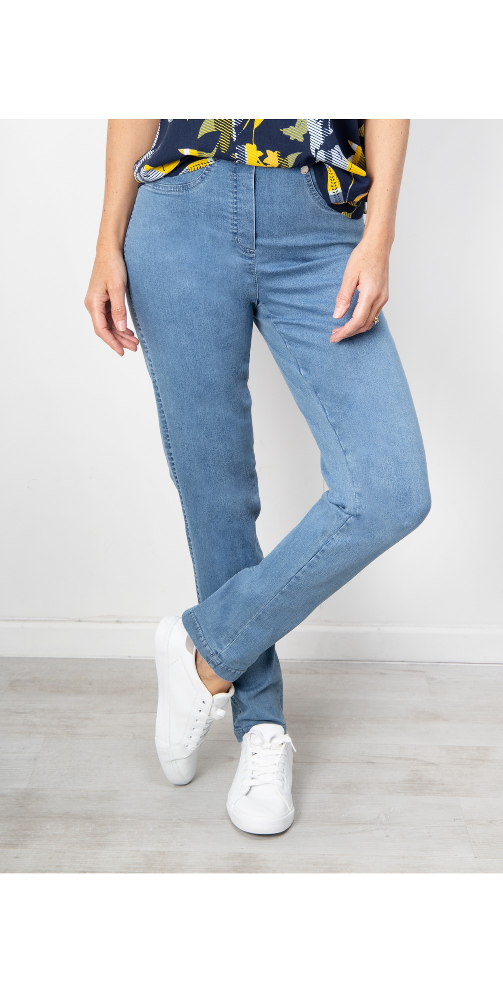 Bella Slim Fit Full Length Jean main image