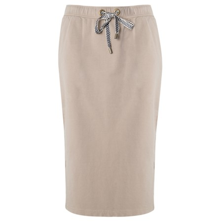 Sandwich Clothing French Terry Skirt - Metallic