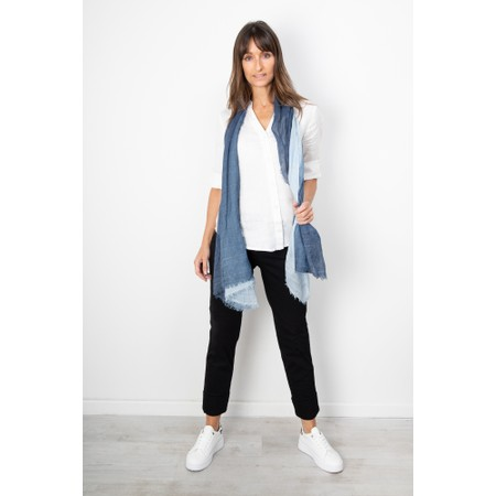Sandwich Clothing Linen Twill Shirt - White